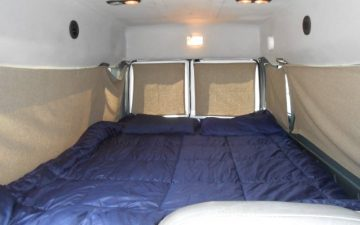 Rent  Sleeper Van (Seats 2, Sleeps 2)